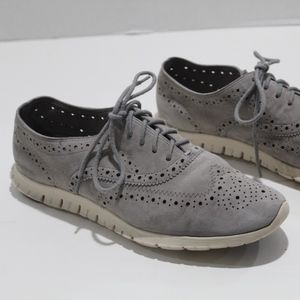 Cole Haan Zerogrand  Wing Tip Oxfords Perforated